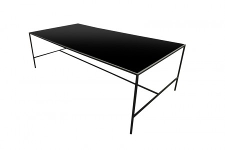 Metro Dining Table All Black 2