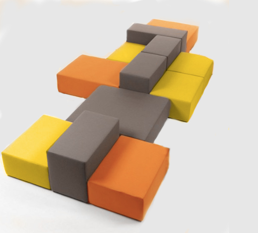 Beau ... Tedtris Modular Seating Luxury Event Furniture Rental Tetris  ...