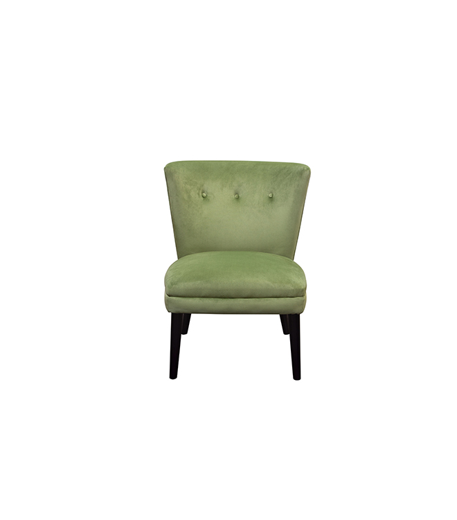 Harlow Chair Green Lux Lounge Efr 888 247 4411